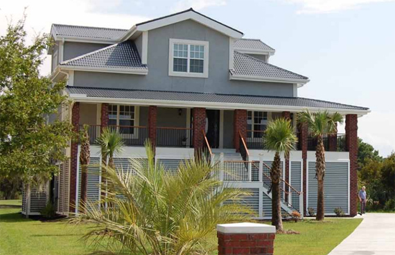 cat five houses of charleston can work with an arhitect and builder to produce a house - Hurricane Proof Homes Design